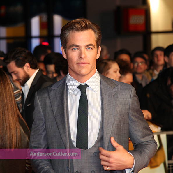 Chris Pine @LFF2018 premiere of OUtlaw/King