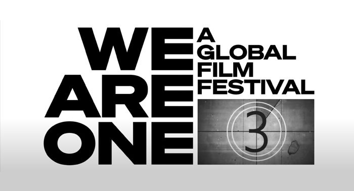 We Are One A Global Film Festival Logo 700x300